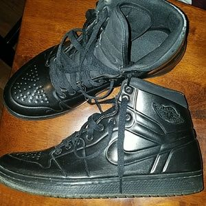 lowest price c634d dae4e Nike Shoes - air jordan 1 anodized 414823-002 black anthracite